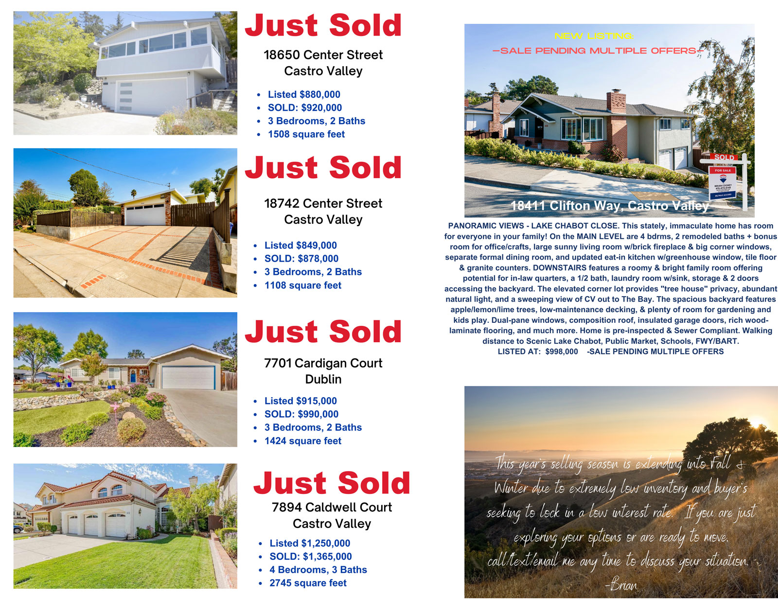 Clifton Just Sold